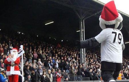 Santa meets Billy the Badger